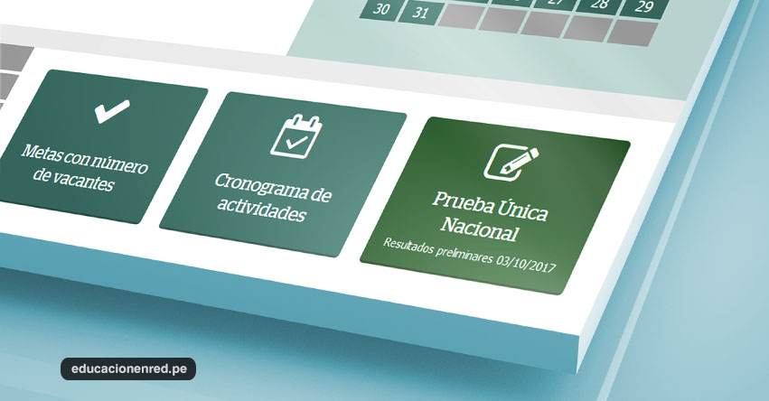 MINEDU publicará los Resultados de Examen de Ascenso hoy Martes 3 de Octubre 2017 - www.minedu.gob.pe