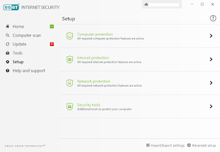 ESET Internet Security with key