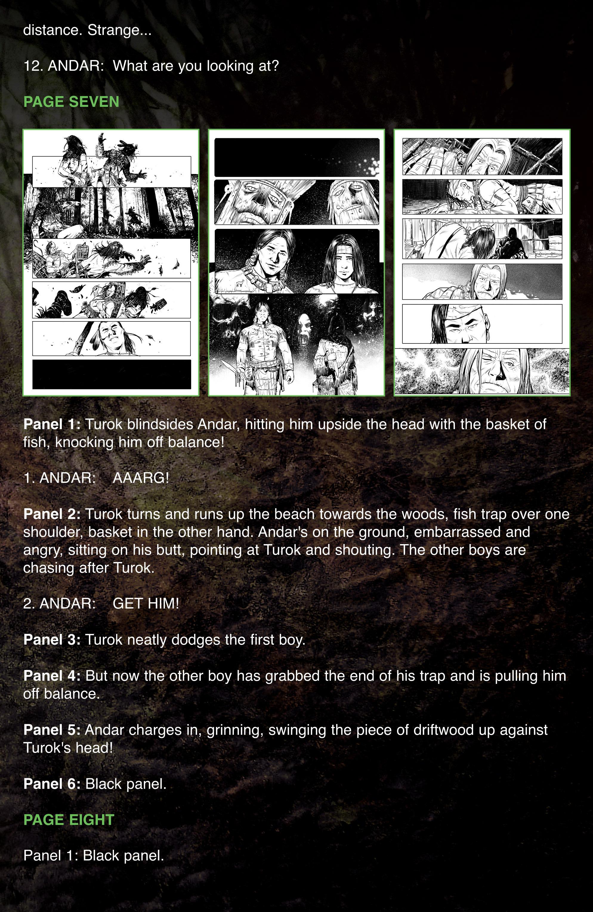 Read online Turok: Dinosaur Hunter (2014) comic -  Issue # _TPB 1 - 102