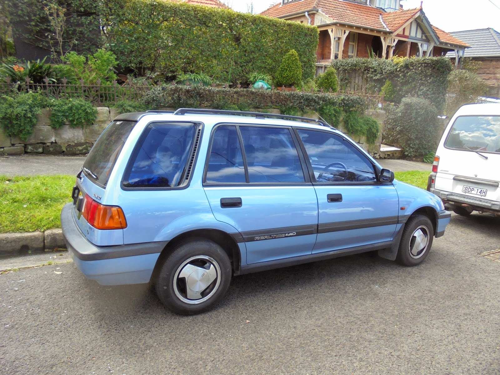 Aussie Old Parked Cars: 1988 Honda Civic RTX Real Time 4WD ...