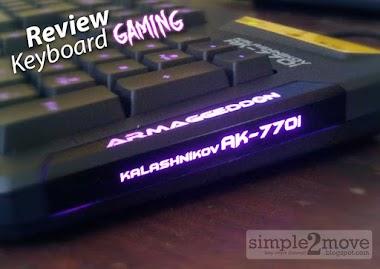 Keyboard Gaming Murah : Armaggeddon AK770-i
