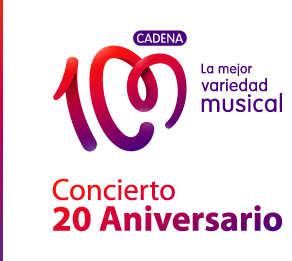 Concierto aniversario de cadena 100 en el Viente Calderón