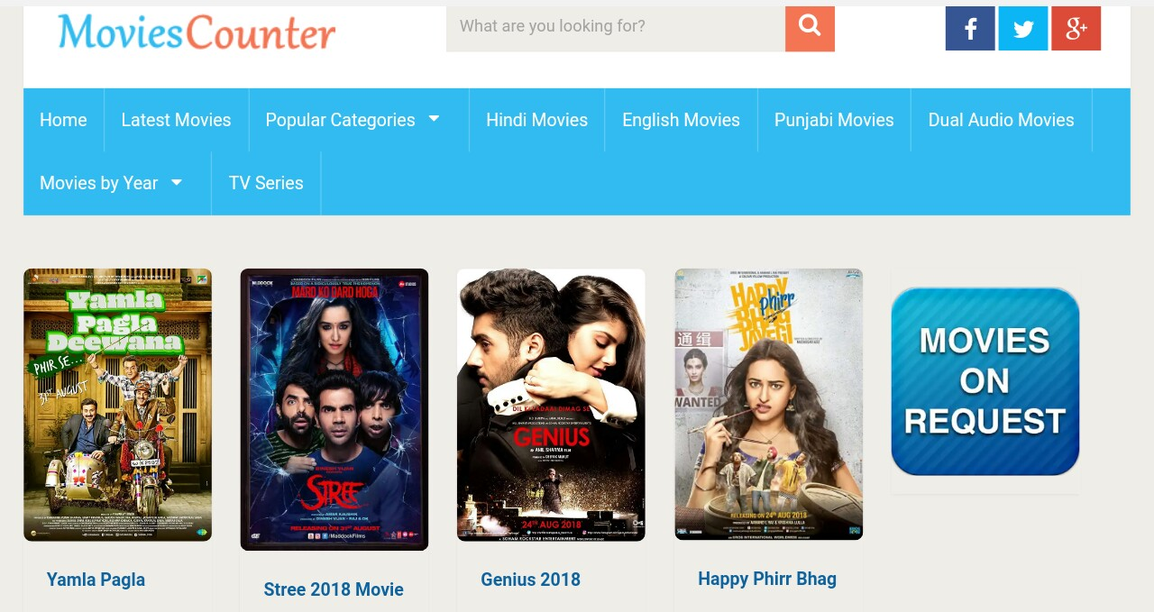 Moviescounter Free movies download sites
