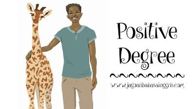 Penjelasan Positive Degree dalam Bahasa Inggris dan Soal Latihannya