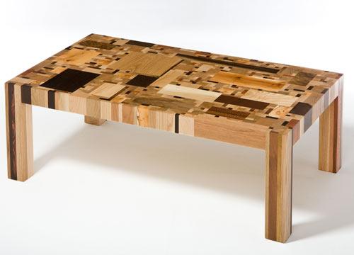 Sensacional Mesade madera artesanal