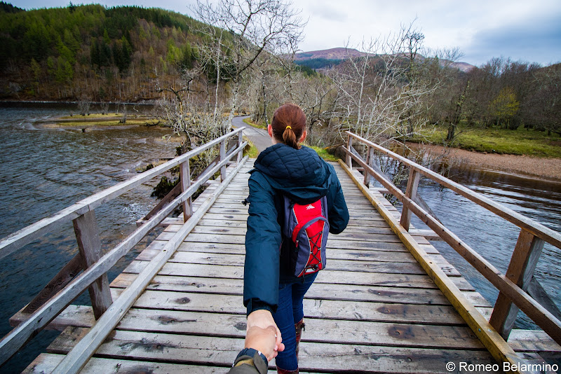 Loch Arkaig Bridge Scotland Cruise Caledonian Discovery