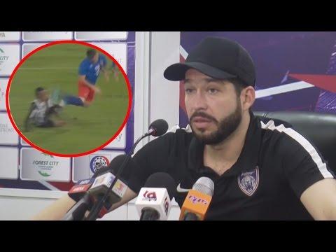 VIDEO : Mora Kecewa Pengadil Tidak Berikan Penalti Kepada JDT!