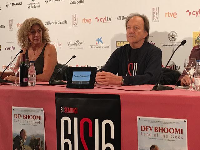 61 SEMINCI. Rueda de prensa de 'Dev Bhoomi' con Goran Paskaljevic
