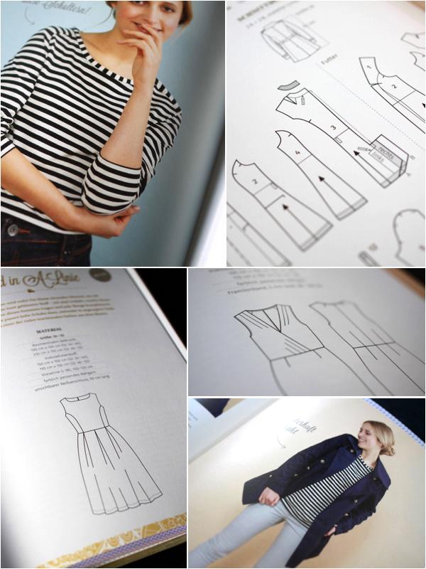 Mode schneidern Das Buch Ottobre Modelle