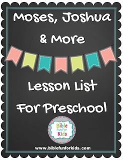 http://www.biblefunforkids.com/2017/05/2-moses-joshua-more-preschool-lesson.html