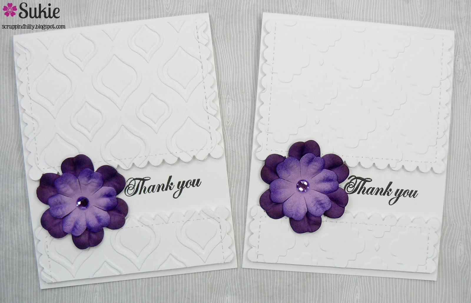 Cards Of Thanks By Sukie Dhillon Craftwell Blog