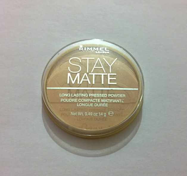 Rimmel Stay Matte Pressed Powder in Warm Beige Review