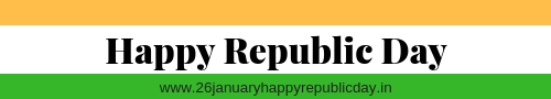 26th January Happy Republic Day