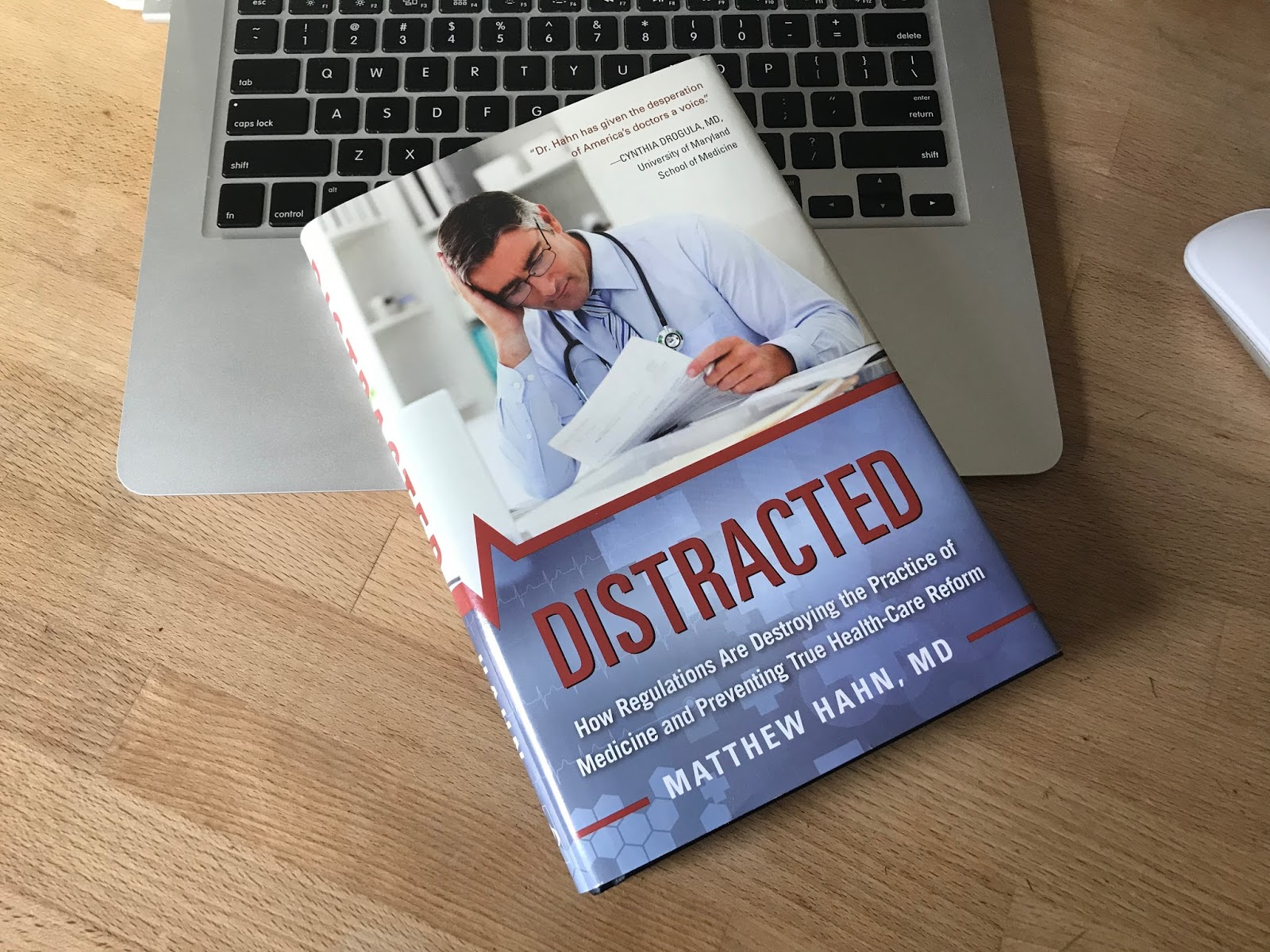 CT Health Notes Blog: New to the Book Club: Distracted: How