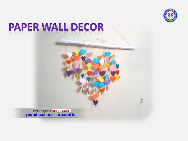 Here is colour paper craft images,paper wall decor images,Room decor ideas with colour paper,how to decorated our room with colour papers,Art&craft ideas for kids,kids projects using with colour papers,best out of waste from papers,How to make heart shaped wall decor ideas,diy paper craft videos,paper flowers for home decoration,how to make paper wall decor ssartscrafts youtube channel videos