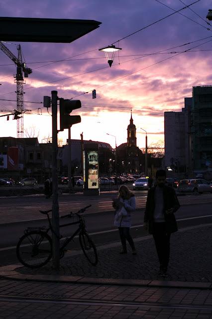 Tramonto-Dresda