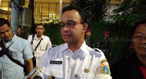 Anies: Kita Tak Bisa Melarang Orang Demo, Jakarta Adalah Ibu Kota