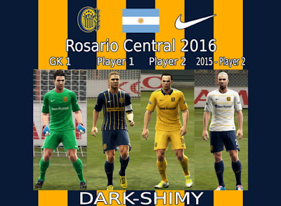 PES 2013 Rosario Central 2016 GDB by Dark Shimy