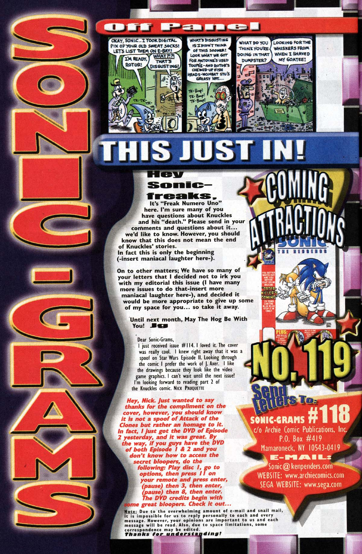 Read online Sonic The Hedgehog comic -  Issue #118 - 26