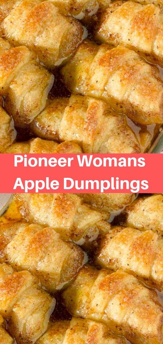 Pioneer Womans Apple Dumplings