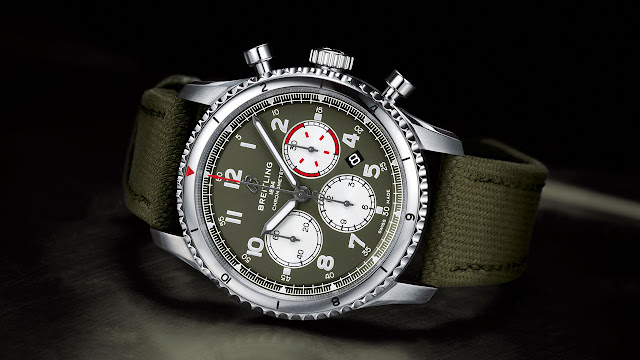 Breitling Aviator 8 Curtiss Warhawk Editions Automatic Chronograph Watch