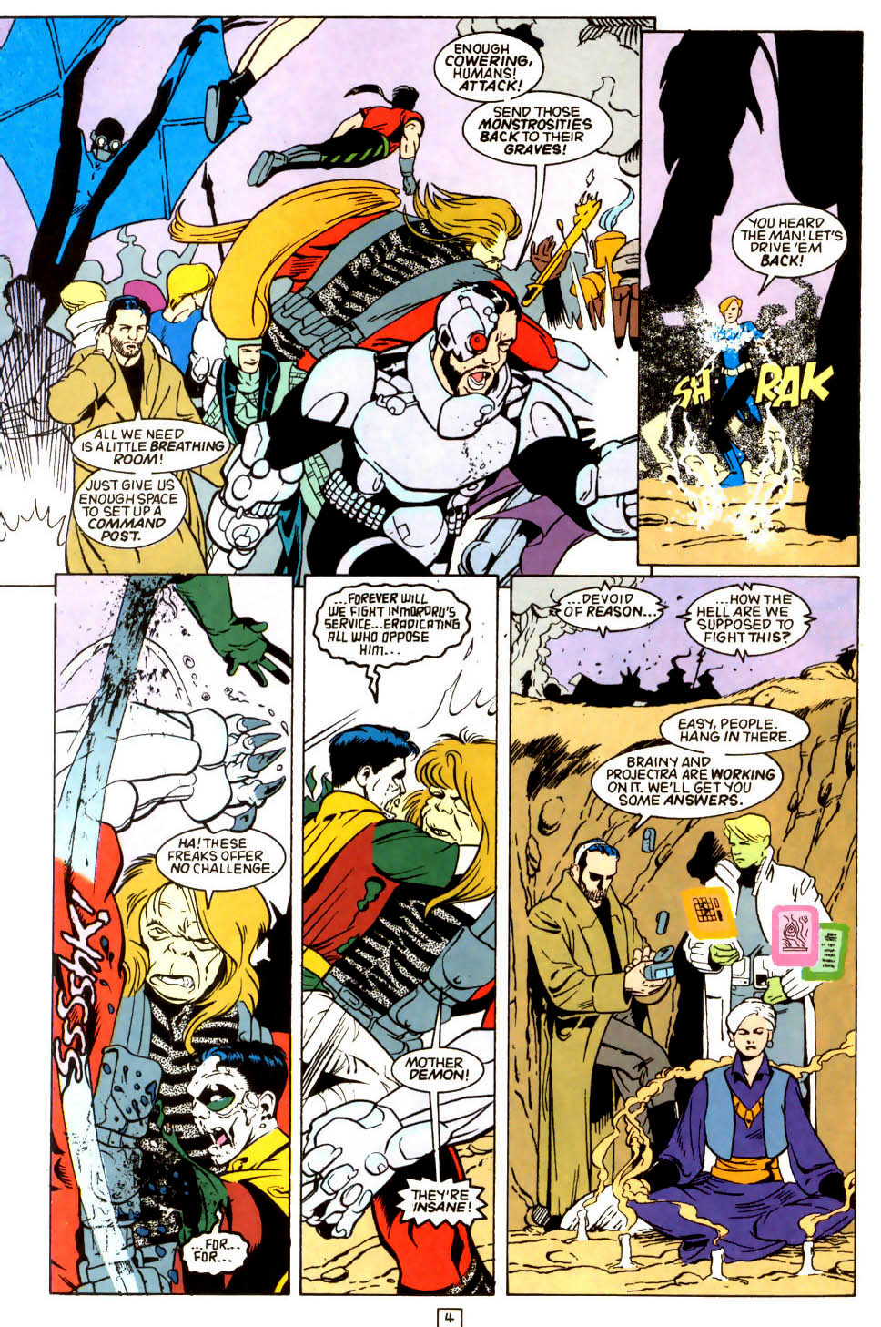 Legion of Super-Heroes (1989) 45 Page 3