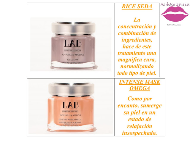 Collage rice side intense mask omega LAB COSMETICA ESPECIFICA