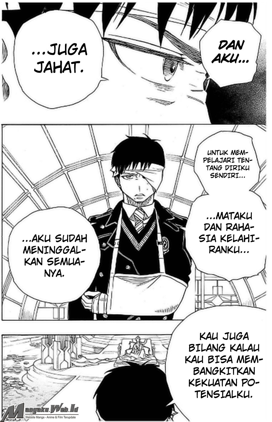Ao no Exorcist Chapter 97