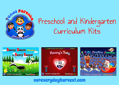 PandaParents Preschool and Kindergarten Curriculum