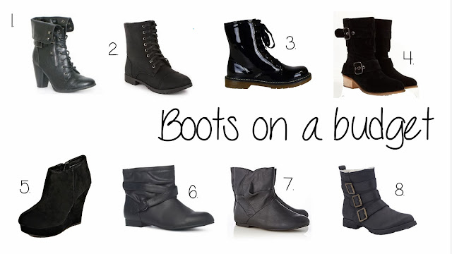 Boots on a budget!