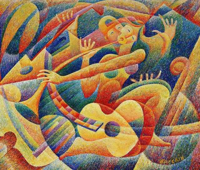 Украинский художник. Aleksandr Breskin
