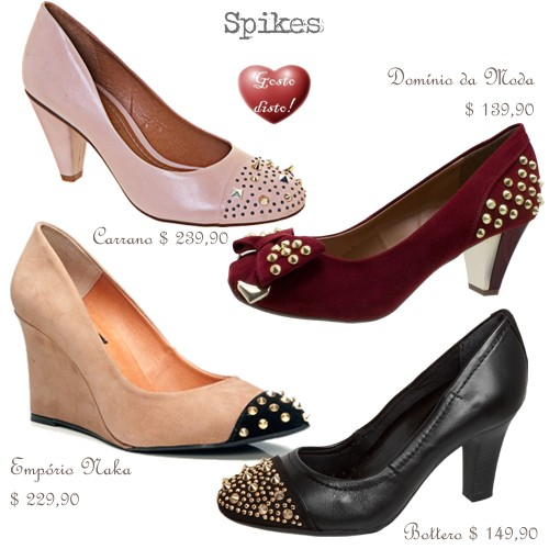 Sapatos de salto médio - Kitten heels shoes