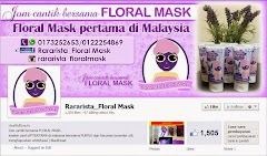Tempahan Design Cover Photo Facebook: Rararista_Floral Mask