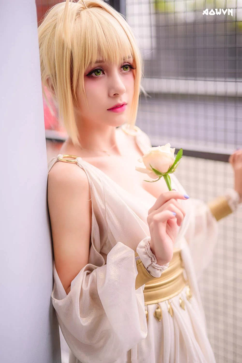 AowVN.org minz%2B%252811%2529 - [ Cosplay ] Nero - Saber anime Fate by Xia Mei Jiang tuyệt đẹp | AowVN Wallpapers