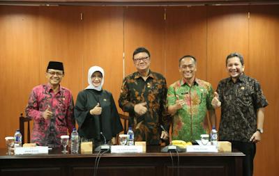 Kemendagri Bersama Ombudsman di Jakarta