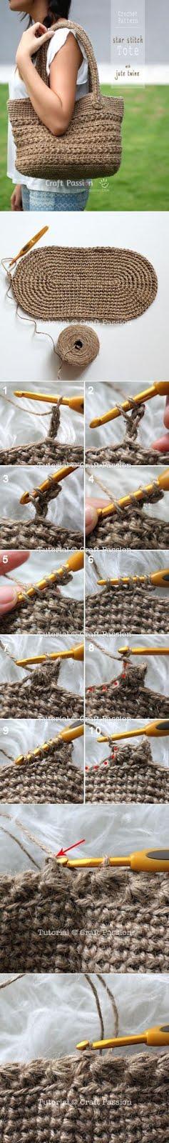 PUNTXET DIY | Patrón de bolso de ganchillo