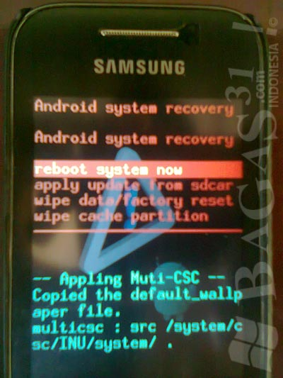 Cara Root Samsung Galaxy Young (GT-S5360) 6