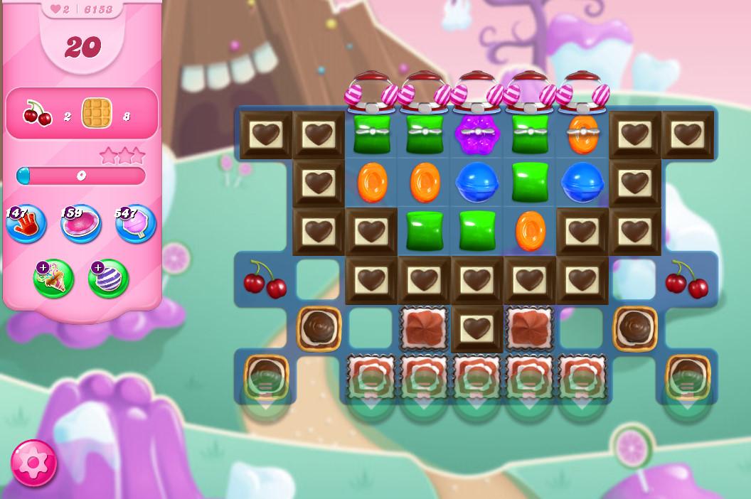 Candy Crush Saga level 6153
