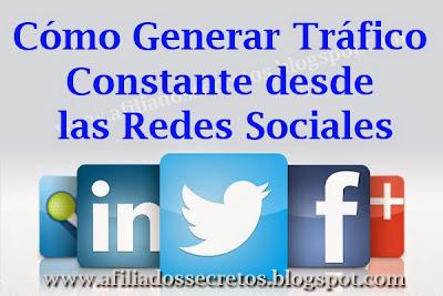 Cómo generar trafico desde las redes sociales