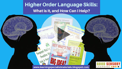 Higher Order Language Skills What is It and How Can I Help?