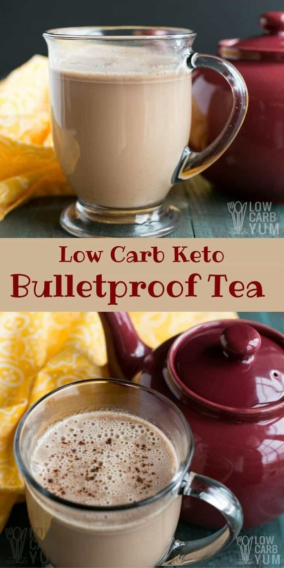 LOW CARB,BULLETPROOF TEA – AN ALTERNATIVE TO KETO COFFEE