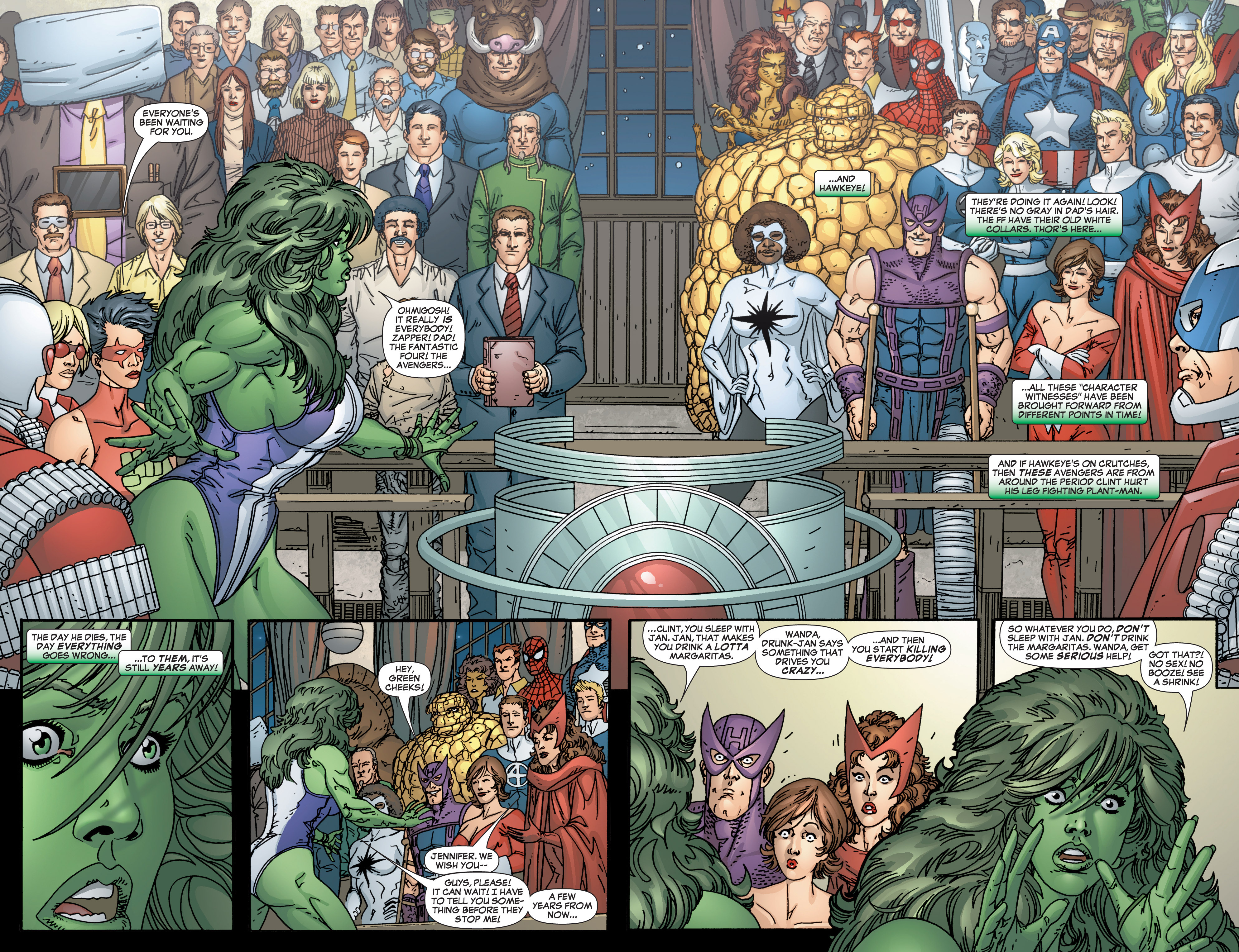 Read online She-Hulk (2005) comic -  Issue #3 - 9