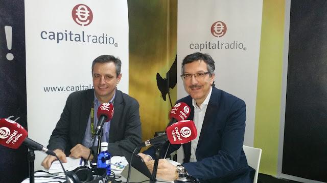 Entrevista Capital Radio José Luis Alonso y Luis Vicente Muñoz