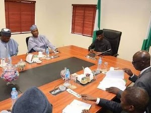 New PDP Leaders, Saraki, Others In a Private Meeting With Osinbajo, Set To Take Final Decision (Pics)