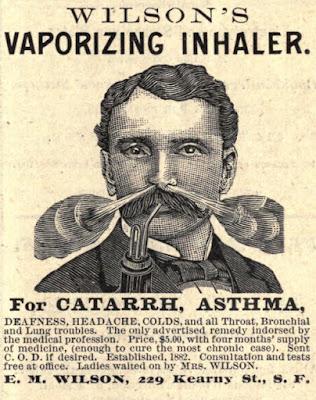 Wilson's Vaporizing Inhaler