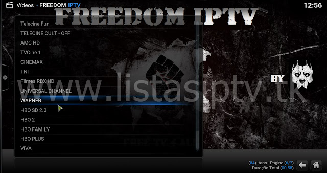 Como Instalar o Add-On FREEDOM IPTV no Kodi - Canais do Brasil e do Mundo