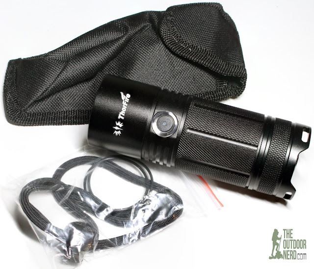 ThorFire TK4A 4xAA LED Flashlight - Unboxing 2