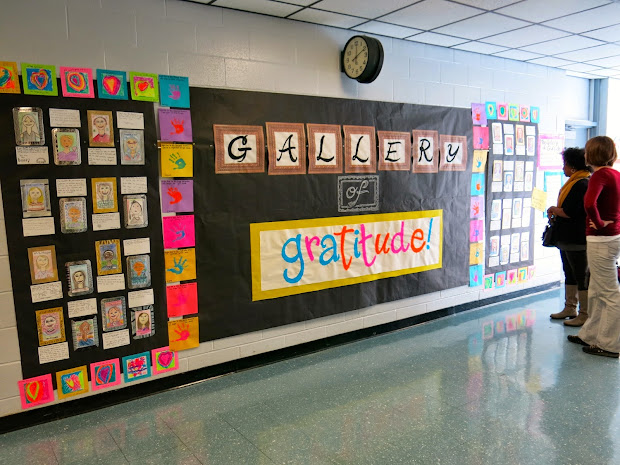 Gratitude Wall Classroom