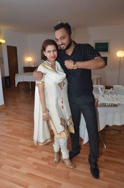 (L-R) Julie Deb, Nikhiel Kumar