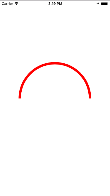 iOS Swift Tutorials: Drawing a semi circle on UIView